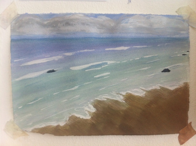 watercolour bude
