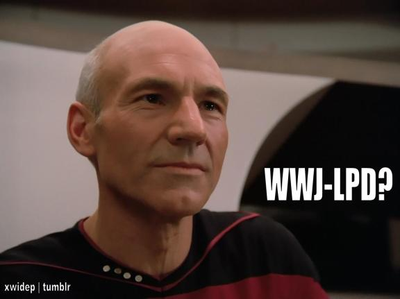 What would Jean-Luc Picard do?