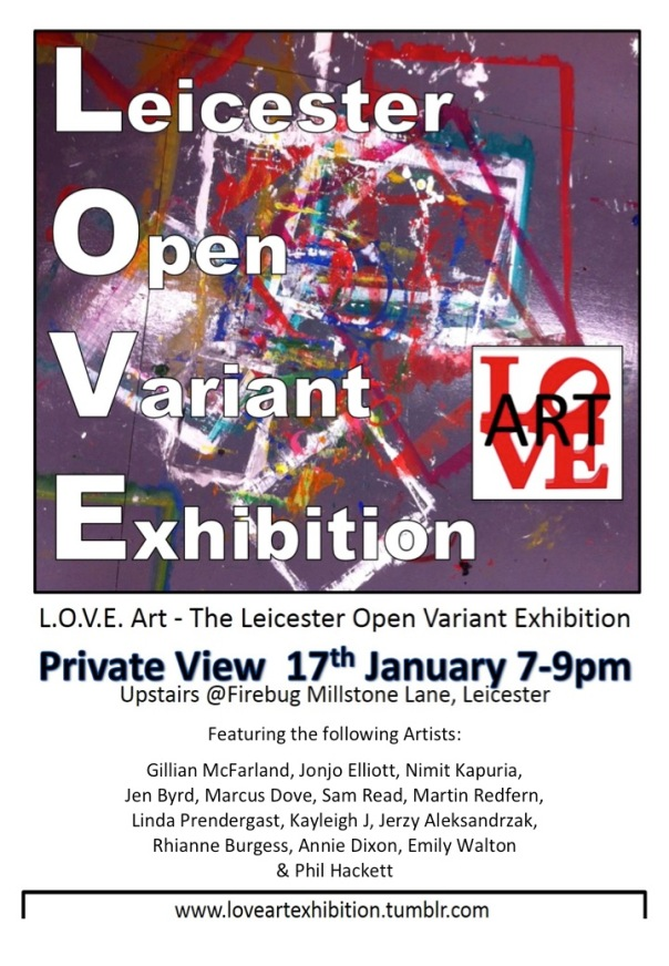 L.O.V.E. Art Poster - Private View